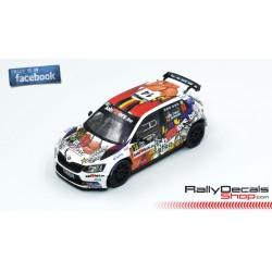 Skoda Fabia R5 - Pieter Jean Michel Cracco - Rally Ypres 2019