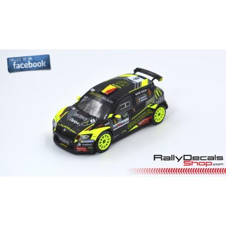 Skoda Fabia R5 - Sébastien Bedoret - Rally Ypres 2019