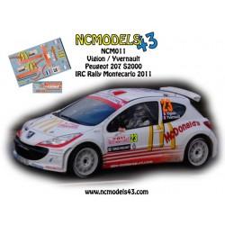 Jean Sebastien Vigion - Peugeot 207 S2000 - Rally Montecarlo 2011