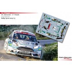 Matt Edwards - Ford Fiesta R5 - Rally Ypres 2019