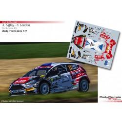 Alex Laffey - Ford Fiesta R5 - Rally Ypres 2019