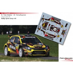 Kevin Van Deijne - Skoda Fabia R5 - Rally Ypres 2019