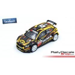 Skoda Fabia R5 - Kevin Van Deijne - Rally Ypres 2019