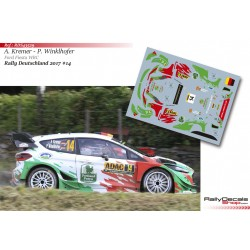 Armin Kremer - Ford Fiesta WRC - Rally Deutschland 2017