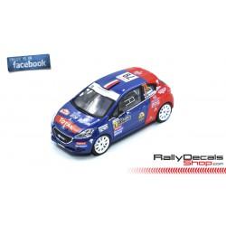 Peugeot 208 R2 - Yohan Rossel - Rally MonteCarlo 2019