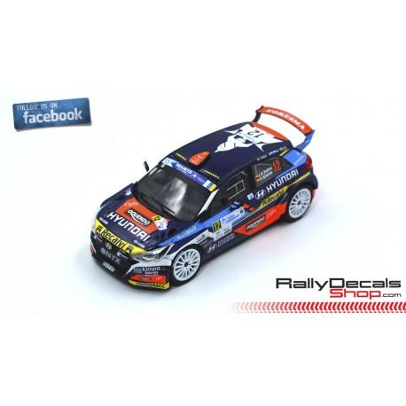 Hyundai i20 R5 - José Antonio Suárez - Rally Islas Canarias 2019