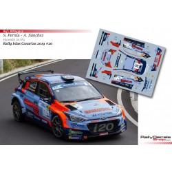 Surhayén Pernía - Hyundai i20 R5 - Rally Islas Canarias 2019