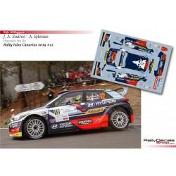 José Antonio Suárez - Hyundai i20 R5 - Rally Islas Canarias 2019