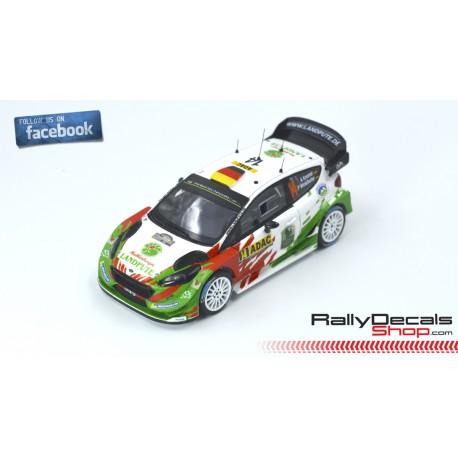 Skoda Fabia R5 - José Ford Fiesta WRC - Armin Kremer - Rally Deutschland 2017 Suárez - Rally Princesa de Asturias 2019