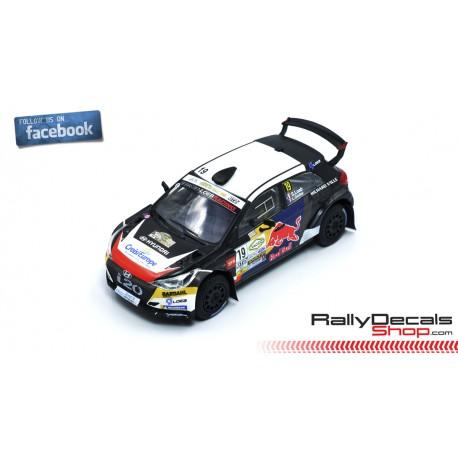 Hyundai i20 R5 - Sebastien Loeb - Rallye Terre du Haut-Var 2019