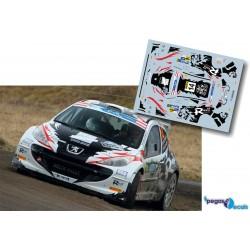 Robert Consani - Peugeot 207 S2000 - Rally Janner 2014