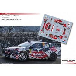 Nicolas Ciamin - VW Polo R5 - Rally MonteCarlo 2019