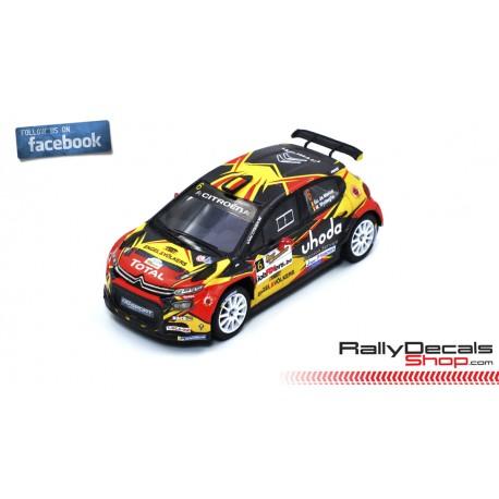 Citroen C3 R5 - Guillaume de Mevius - Rally Haspengouw 2019