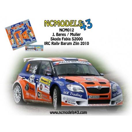Josef Beres - Skoda Fabia S2000 - Rally Barum 2010