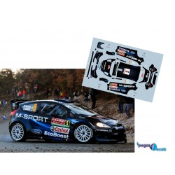 Mikko Hirvonen - Ford Fiesta WRC - Rally Montecarlo 2014