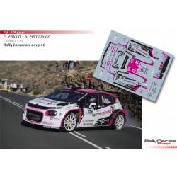 Emma Falcón - Citroen C3 R5 - Rally Lanzarote 2019