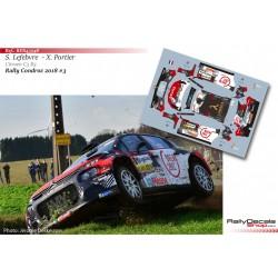 Stéphane Lefebvre - Citroen C3 R5 - Rally Condroz 2018