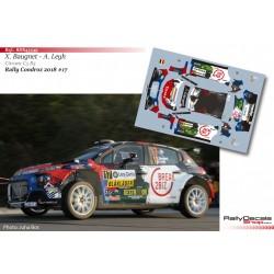Xavier Baugnet - Citroen C3 R5 - Rally Condroz 2018