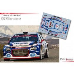 Yoann Bonato - Citroen C3 R5 - Rally MonteCarlo 2020