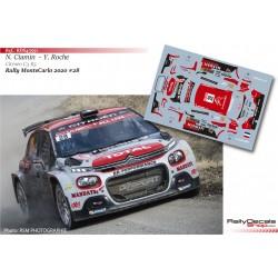 Nicolas Ciamin - Citroen C3 R5 - Rally MonteCarlo 2020