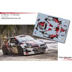 Bertrand Pierrat - VW Polo R5 - Rally MonteCarlo 2020