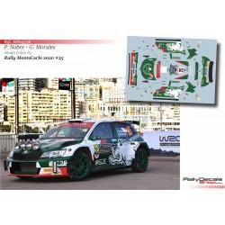 Paulo Nobre - Skoda Fabia R5 - Rally MonteCarlo 2020