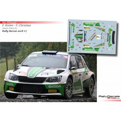 Fabian Kreim - Skoda Fabia R5 - Rally Barum 2018