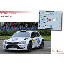 Chris Ingram - Skoda Fabia R5 - Rally Barum 2019