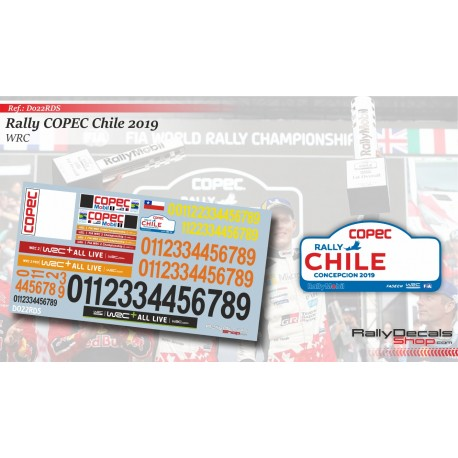 Chile 2019 Numbers