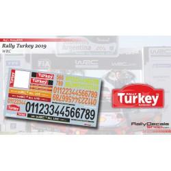 Turkey 2019 Numbers