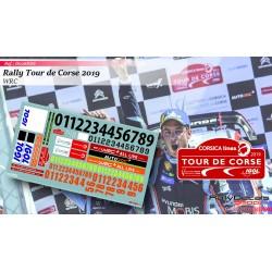 Tour de Corse 2019 Numbers
