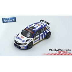 Skoda Fabia R5 - Enrico Brazzoli - Rally MonteCarlo 2020