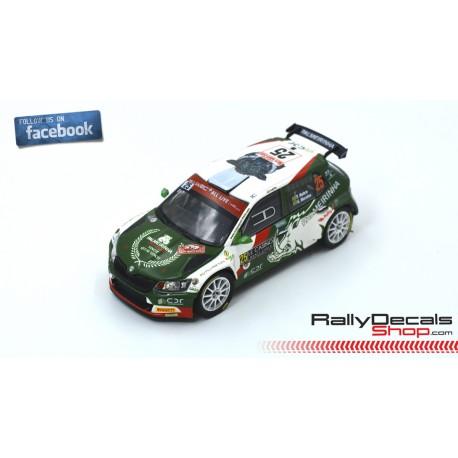 Skoda Fabia R5 - Paulo Nobre - Rally MonteCarlo 2020