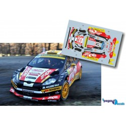 Martin Prokop - Ford Fiesta WRC - Rally Montecarlo 2014