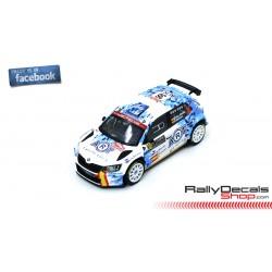 Skoda Fabia R5 - Miguel Díaz Aboitiz - Rally MonteCarlo 2020