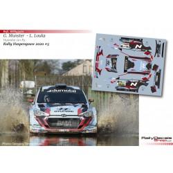 Grégoire Munster - Hyundai i20 R5 - Rally Haspengouw 2020