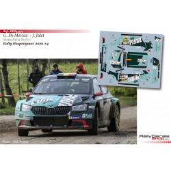 Ghislain de Mevius - Skoda Fabia R5 Evo - Rally Haspengouw 2020