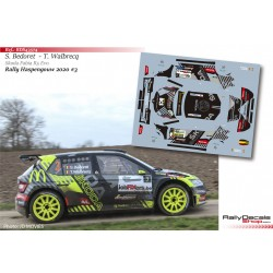 Sébastien Bedoret - Skoda Fabia R5 Evo - Rally Haspengouw 2020