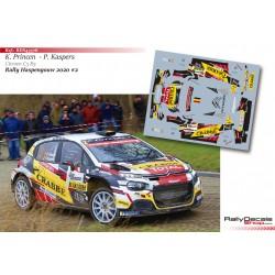 Kris Princen - Citroen C3 R5 - Rally Haspengouw 2020