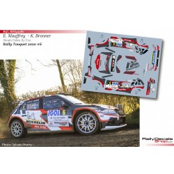 Eric Mauffrey - Skoda Fabia R5 Evo - Rally Touquet 2020