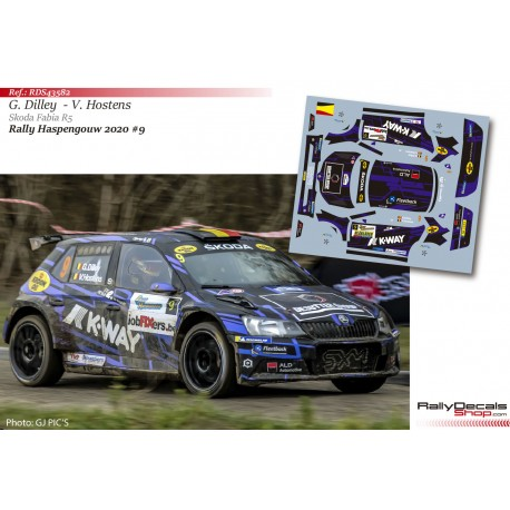 Guillaume Dilley - Skoda Fabia R5 - Rally Haspengouw 2020