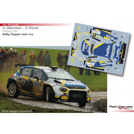 Nyls Stievenart - Citroen C3 R5 - Rally Touquet 2020