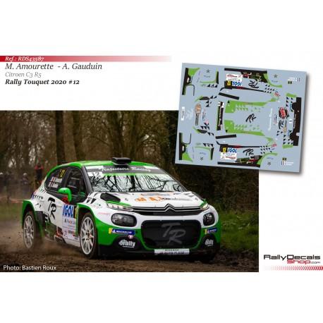Marc Amourette - Citroen C3 R5 - Rally Touquet 2020
