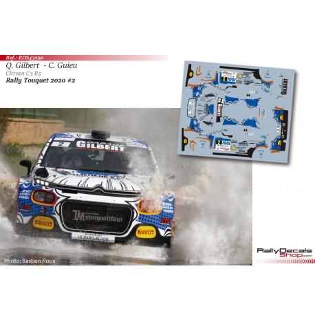 Quentin Gilbert - Citroen C3 R5 - Rally Touquet 2020