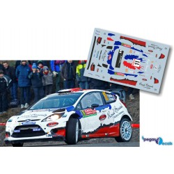 Bryan Bouffier - Ford Fiesta RS WRC - Rally Montecarlo 2014