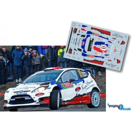 Bryan Bouffier - Ford Fiesta RS WRC - Rally Montecarlo 2014