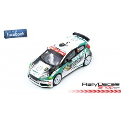 Ford Fiesta R5 - Marco Paccagnella - Rally MonteCarlo 2019
