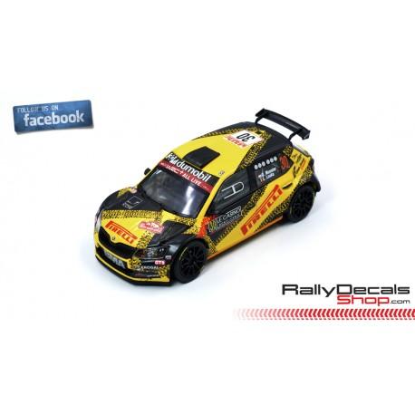 Skoda Fabia R5 - Gregoire Munster - Rally MonteCarlo 2020