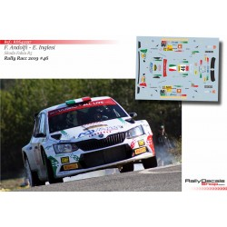 Fabio Andolfi - Skoda Fabia R5 - Rally Catalunya 2019