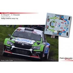 Bastien Rouard - Skoda Fabia R5 - Rally Condroz 2019